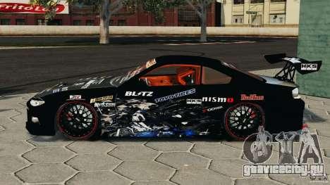 Nissan Silvia S15 HKS для GTA 4 вид слева