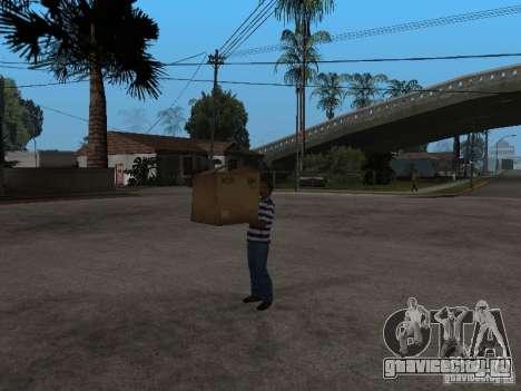 CJ - Клептоман для GTA San Andreas третий скриншот