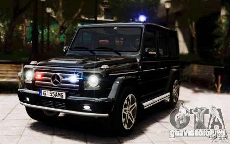 Mercedes-Benz G55 AMG для GTA 4