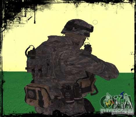 Пехотинец США для GTA San Andreas второй скриншот