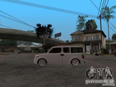 Honda Element для GTA San Andreas вид слева