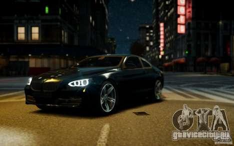 BMW 640i F12 для GTA 4 вид справа