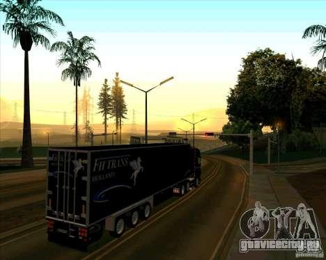 Trailer к Scania R620 Pimped для GTA San Andreas вид сзади слева