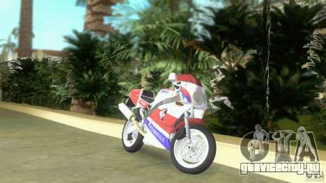 Yamaha FZR 750 original plain для GTA Vice City