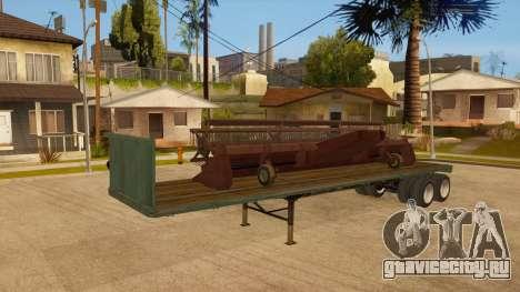 Трал для GTA San Andreas вид сбоку