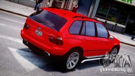 BMW X5 E53 v1.3 для GTA 4 салон