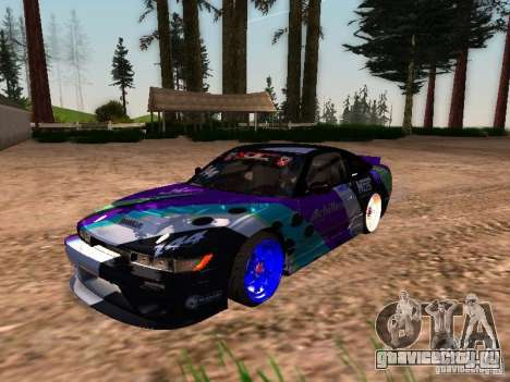Nissan Sil80 Nate Hamilton для GTA San Andreas