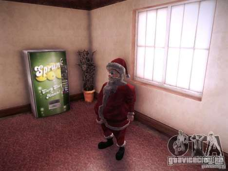 Санта Клаус для GTA San Andreas