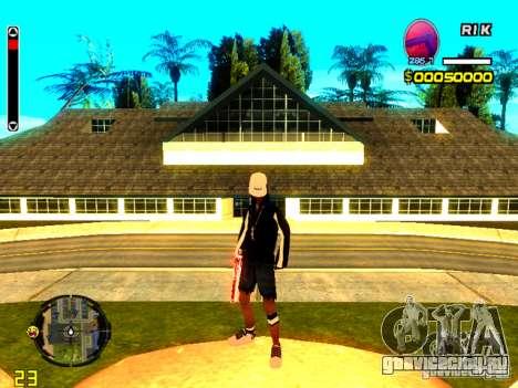Skin бомжа v8 для GTA San Andreas четвёртый скриншот