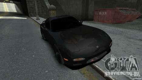 Mazda RX7 1995 Black [EPM] для GTA 4