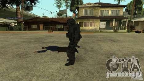 Roach from CoD MW2 для GTA San Andreas четвёртый скриншот