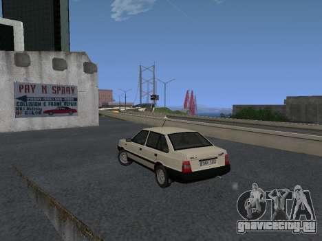 FSO Polonez Atu 1.4 GLI 16v для GTA San Andreas вид сзади