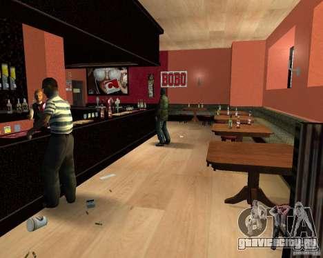 Новый бар в Гантоне для GTA San Andreas четвёртый скриншот