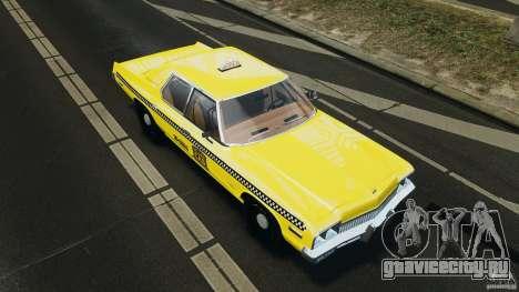 Dodge Monaco 1974 Taxi v1.0 для GTA 4 двигатель