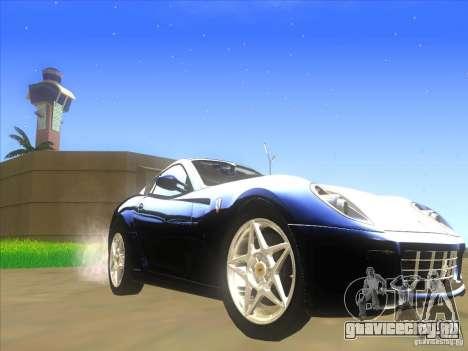 Ferrari 599 GTB Fiorano для GTA San Andreas вид слева