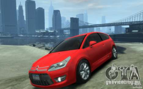 Citroen C4 2009 VTS Coupe v1 для GTA 4
