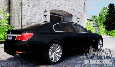 BMW 750Li для GTA 4 вид справа