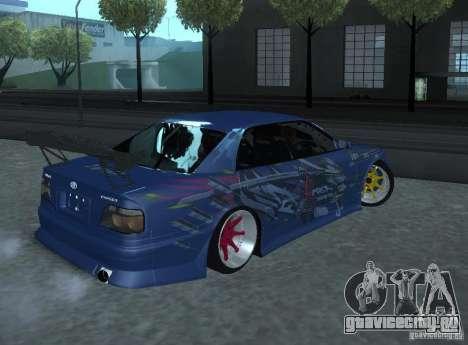 Toyota Chaser JZX100 Weld для GTA San Andreas вид справа