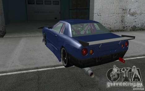 Elegy MS R32 для GTA San Andreas вид сверху