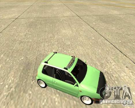 Volkswagen Lupo Hellaflush для GTA San Andreas вид сбоку
