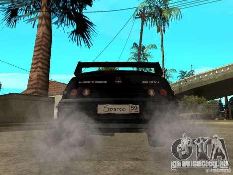 ВАЗ 2110 Penza Tuning для GTA San Andreas вид сзади слева