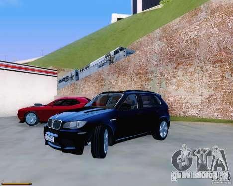 BMW X5M для GTA San Andreas вид справа