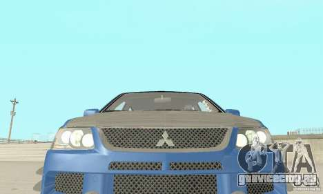 Mitsubishi Lancer Evolution IX Wagon MR Drift для GTA San Andreas вид сбоку