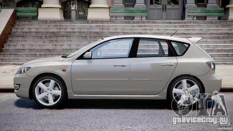 Mazda 3 2004 для GTA 4 вид сбоку