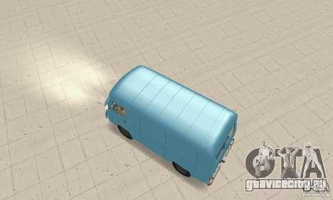 УАЗ-3741 для GTA San Andreas вид сзади слева