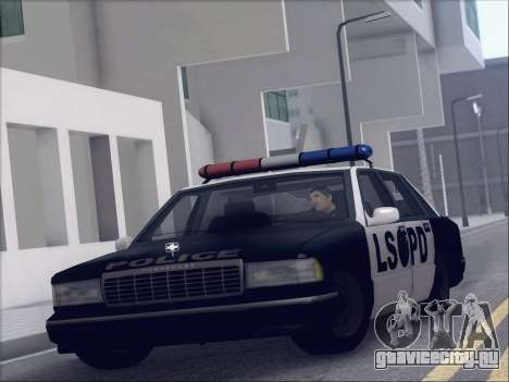 New Police LSPD для GTA San Andreas