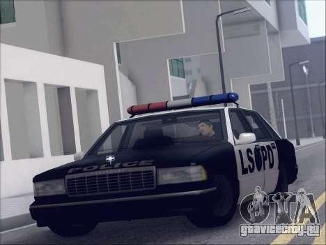 New Police LSPD для GTA San Andreas