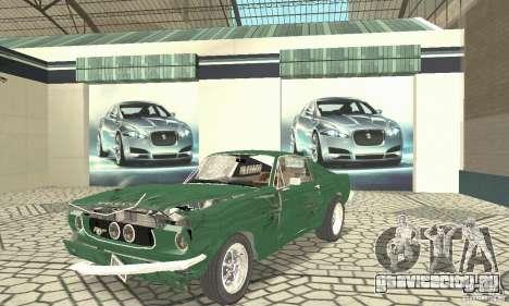 Ford Mustang Fastback 1967 для GTA San Andreas вид сбоку