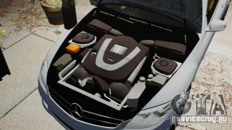 Mercedes-Benz CL65 AMG v1.1 для GTA 4 вид сбоку