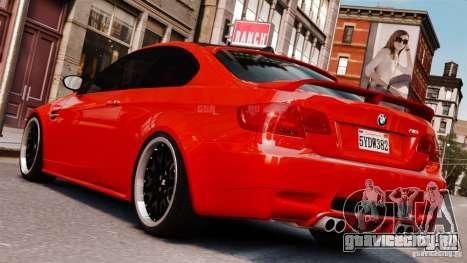 BMW M3 E92 2009 HAMANN для GTA 4 вид слева