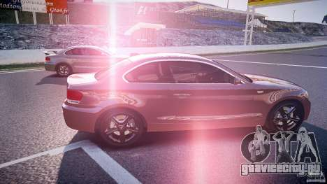 BMW 135i Coupe v1.0 2009 для GTA 4 вид изнутри