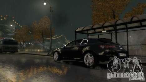 Alfa Romeo Brera Italia Independent 2009 v1.1 для GTA 4 вид сбоку