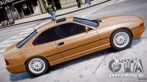 BMW 850i E31 1989-1994 для GTA 4 вид слева