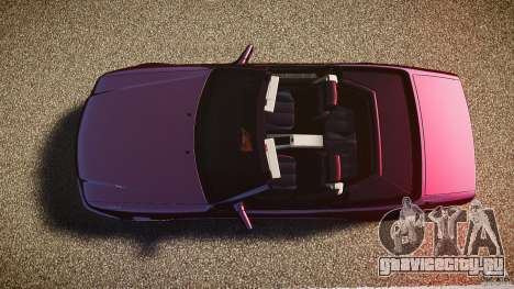 Mercedes Benz SL500 Custom для GTA 4 вид справа