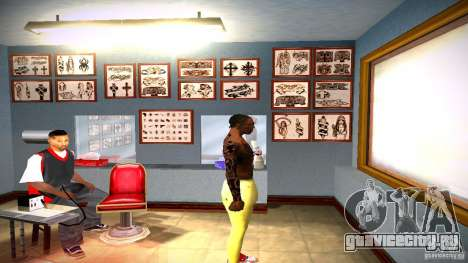 Три новых татуировки для GTA San Andreas восьмой скриншот