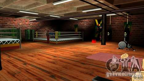 Спортзал для GTA San Andreas второй скриншот