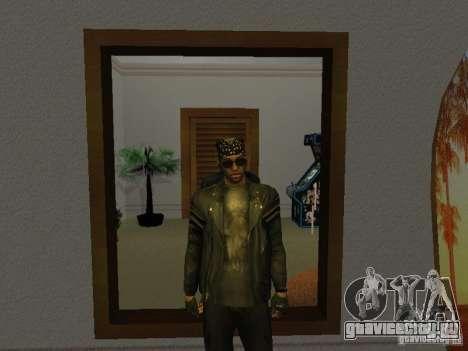 Куртка с черепом для GTA San Andreas второй скриншот