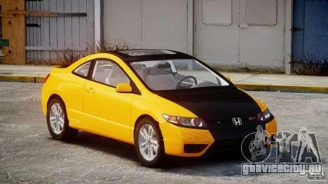 Honda Civic Si Coupe 2006 v1.0 для GTA 4