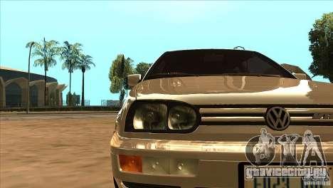 Volkswagen Golf MK3 VR6 для GTA San Andreas вид сбоку