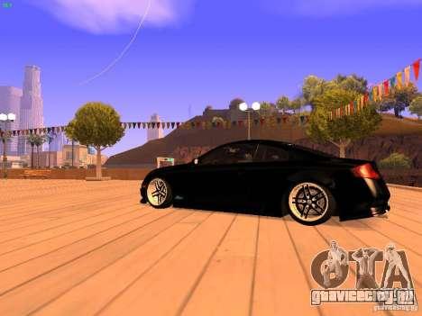 Infiniti G35 V.I.P для GTA San Andreas вид сзади слева