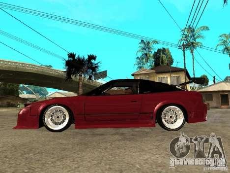 Nissan 240SX Tuned для GTA San Andreas вид слева