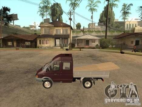 ГАЗ 33023 для GTA San Andreas вид слева