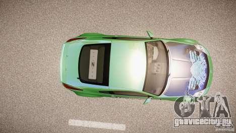 Nissan 350Z Underground 2 Style для GTA 4 вид сзади