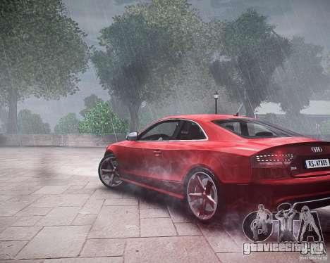 Audi RS5 2010 для GTA 4 вид слева