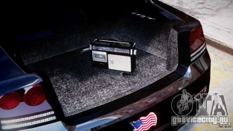 Dodge Charger NYPD Police v1.3 для GTA 4 вид сбоку