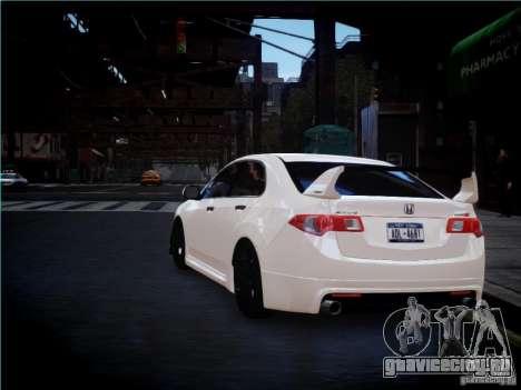Honda Accord Mugen для GTA 4 вид справа
